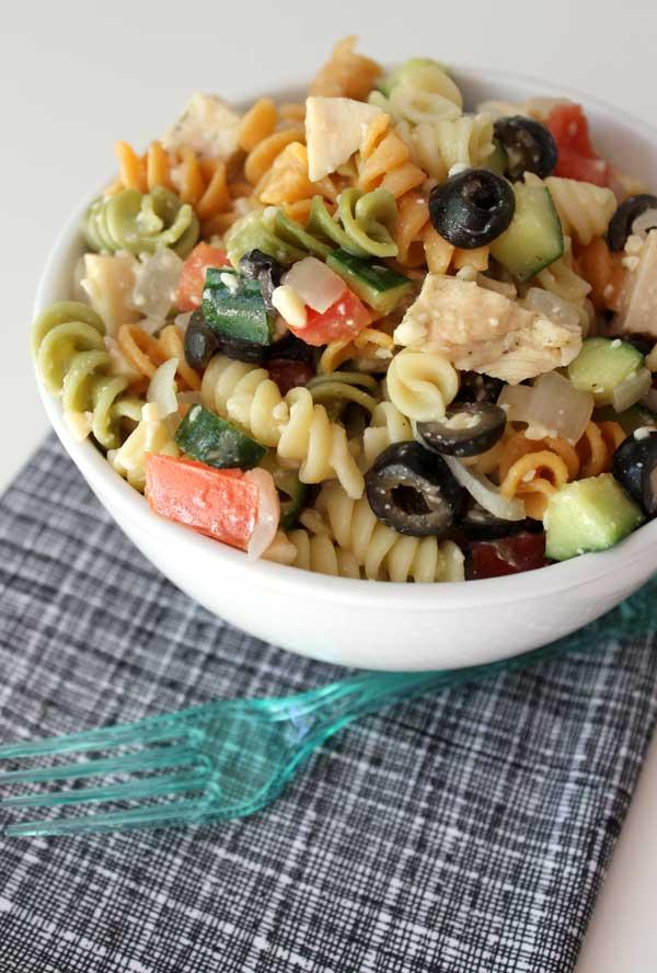 easy deli style pasta salad recipe
