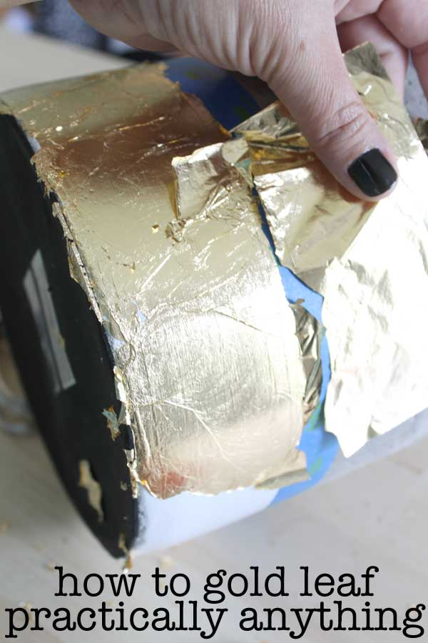 how to gold leaf practically anything