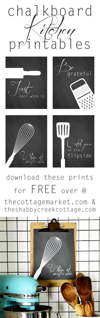 free kitchen art