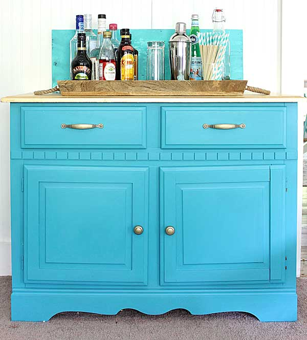three step cabinet makeover