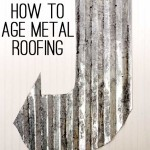 age galvanized metal