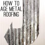 age galvanized metal