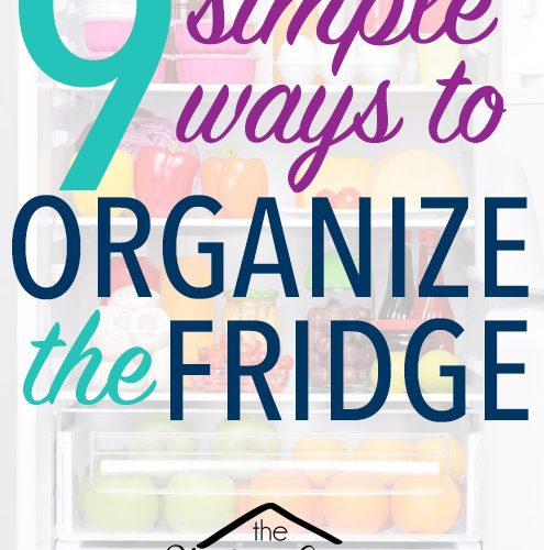 9 Simple Ways to Organize Your Refrigerator