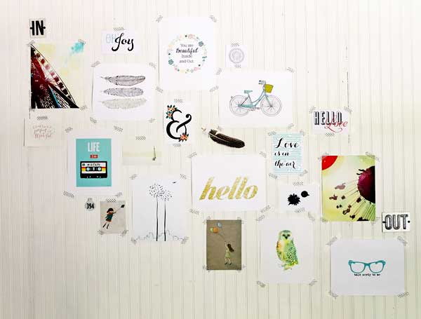 free printable gallery wall