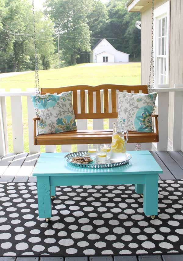 Simple Porch Decorating Ideas The Shabby Creek Cottage