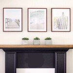 summer mantel ideas