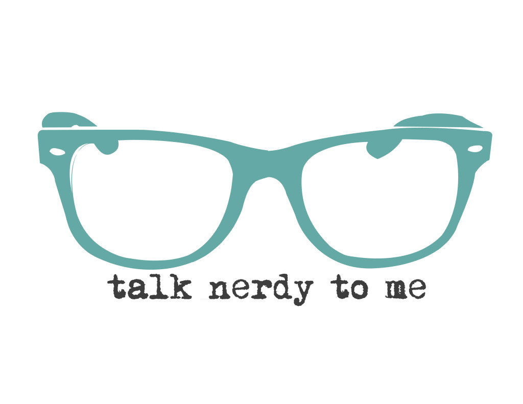 talk nerdy to me - blue