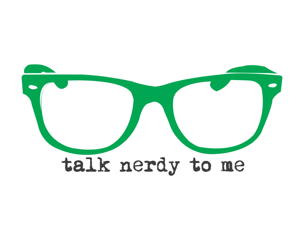 talk nerdy to me - green