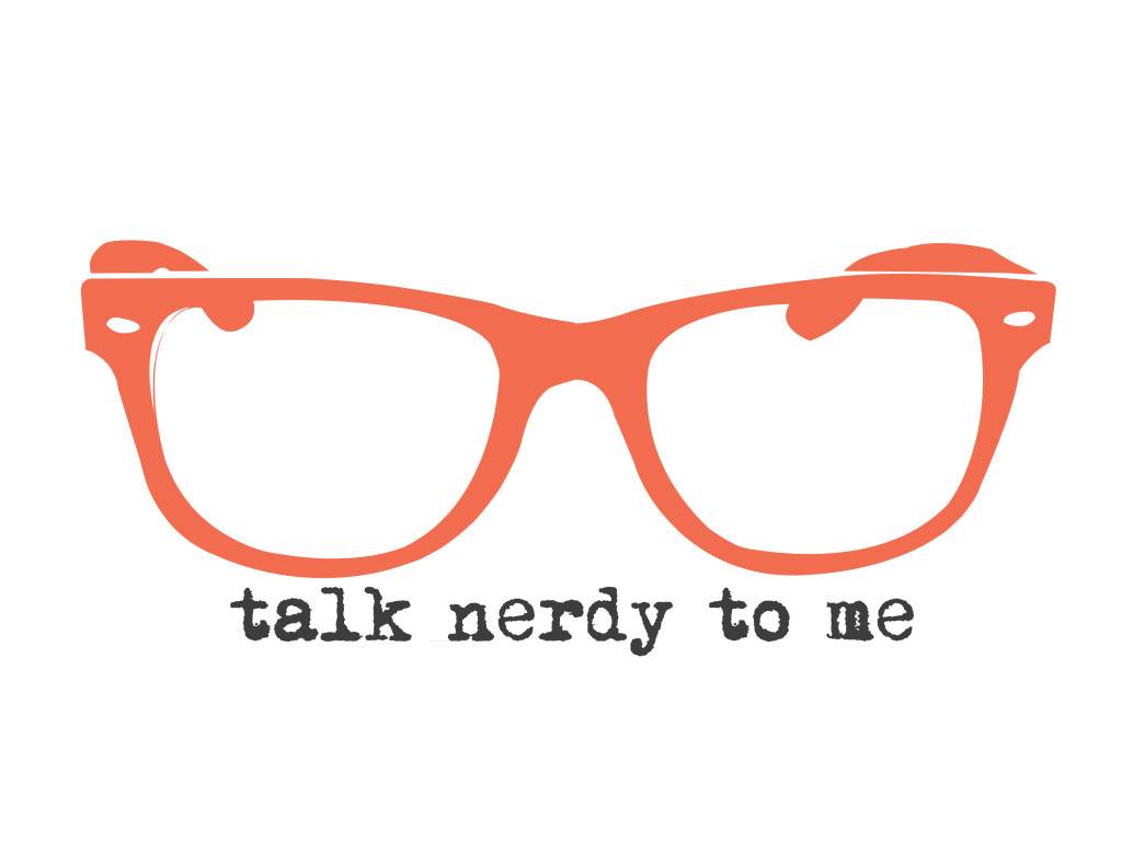 talk nerdy to me - orange