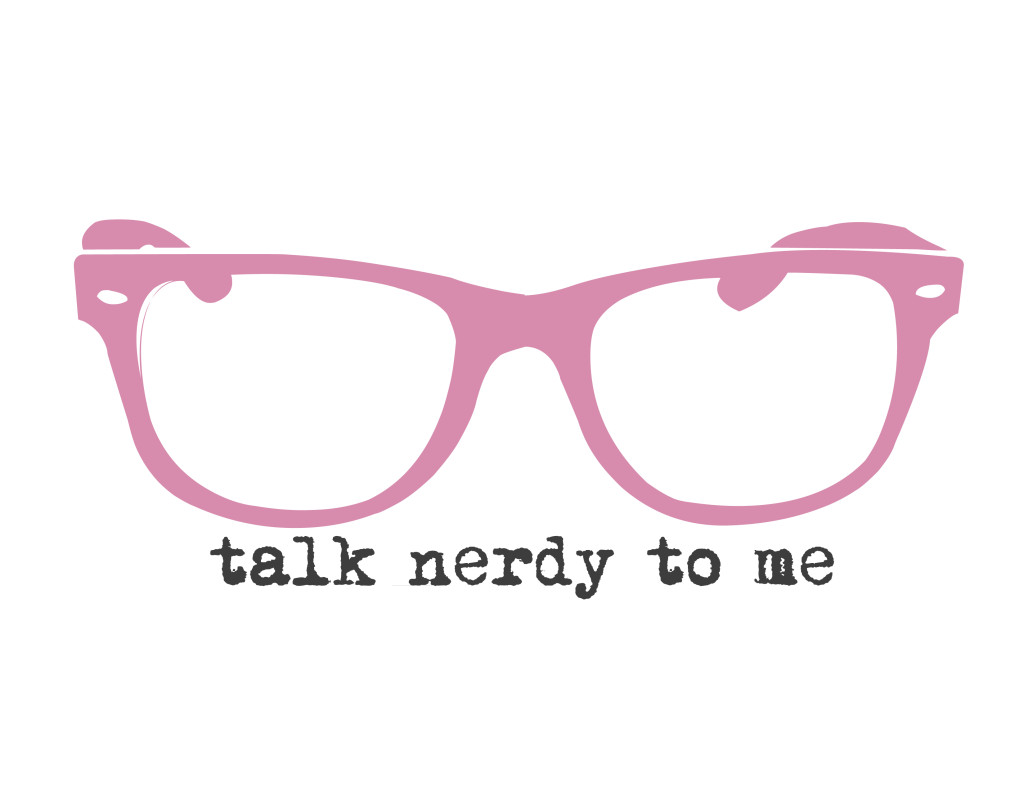 talk nerdy to me - pink