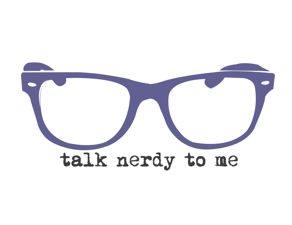 talk nerdy to me - purple