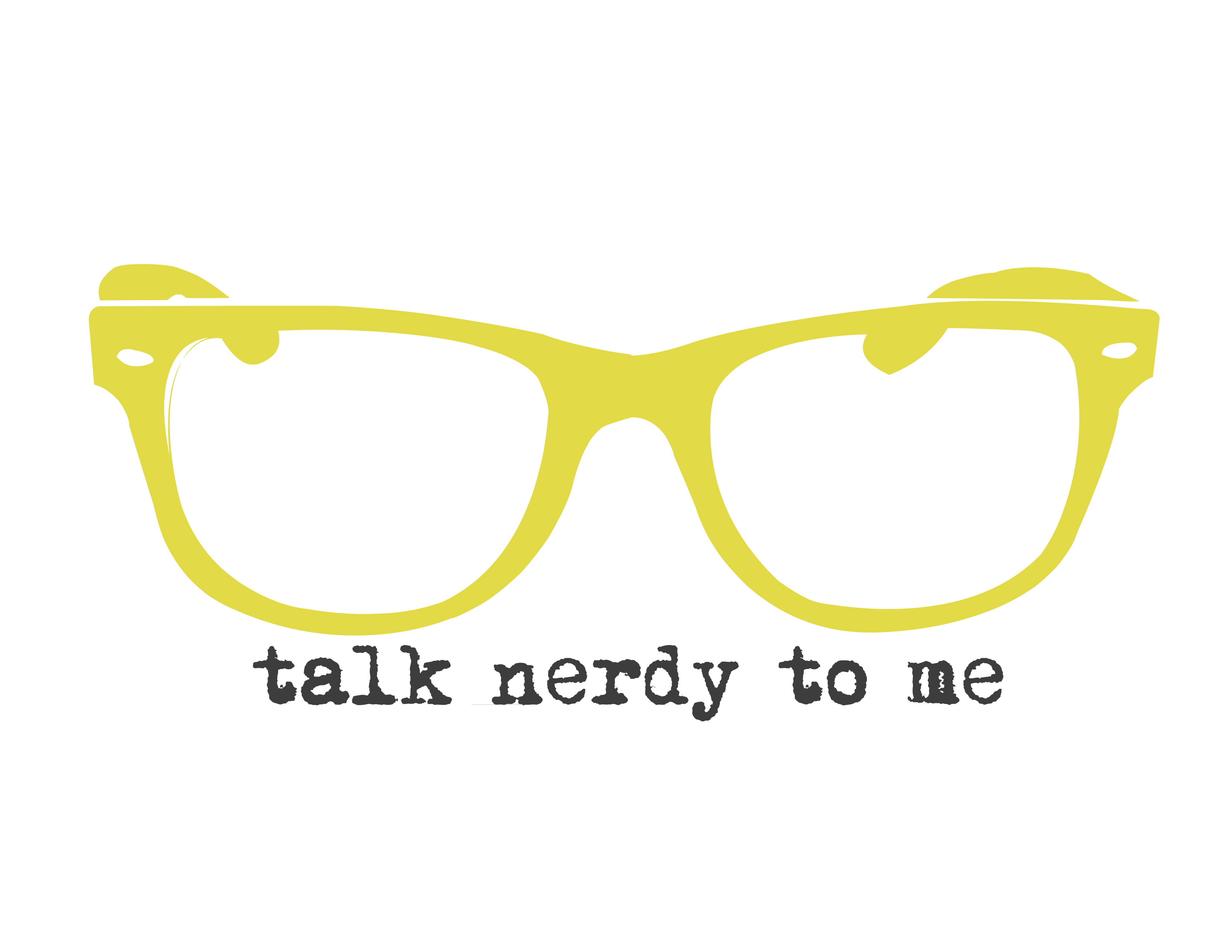 free wall art: talk nerdy to me