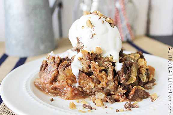 Crock Pot Apple Crisp Recipe - looks too good!