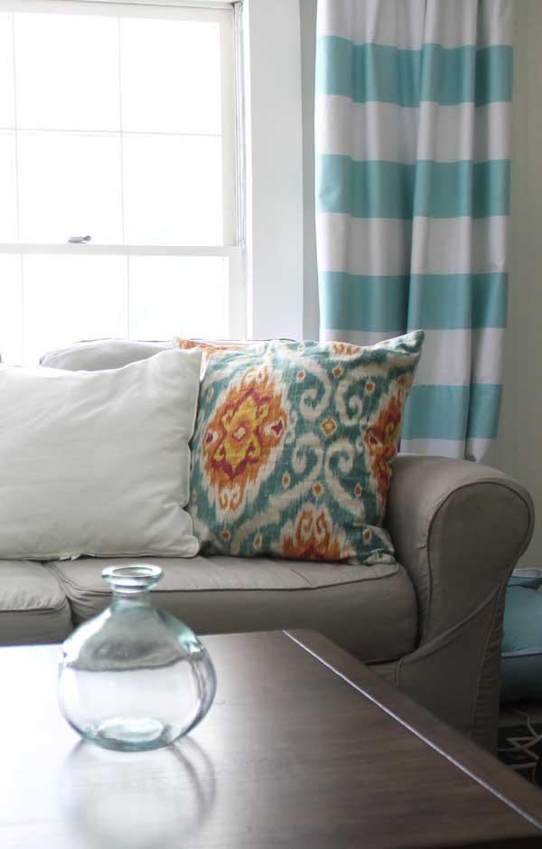 Fabulous How to make horizontal striped curtains BB63