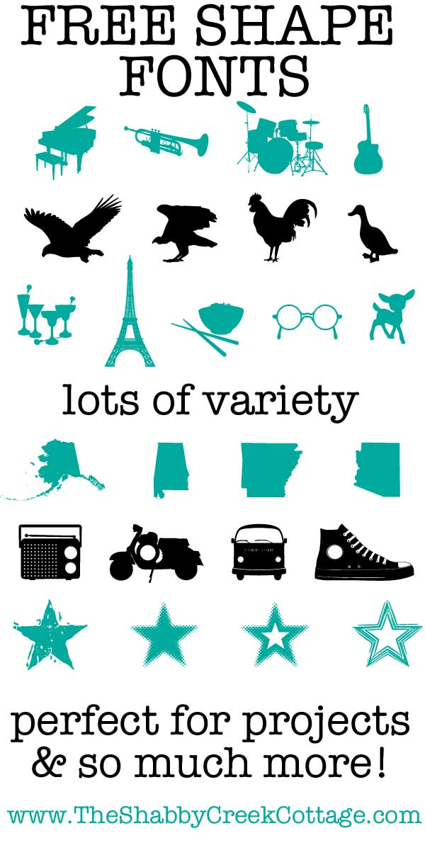 Seven Free Dingbat Fonts Perfect For Projects