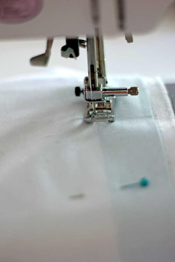 how to sew horizontal stripe curtains