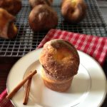 Cinnamon and Sugar Popovers- super east and yummy