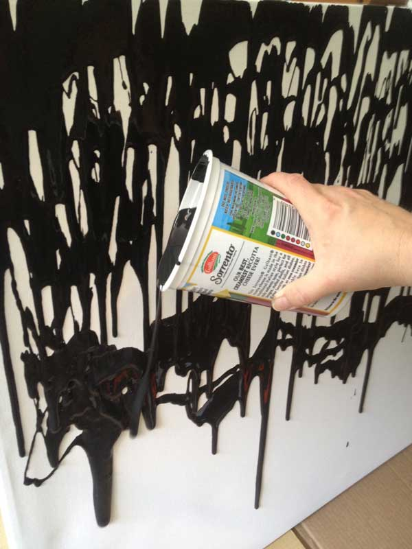 Image Result For Black Wall Paint
