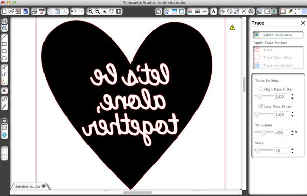 Silhouette software tips