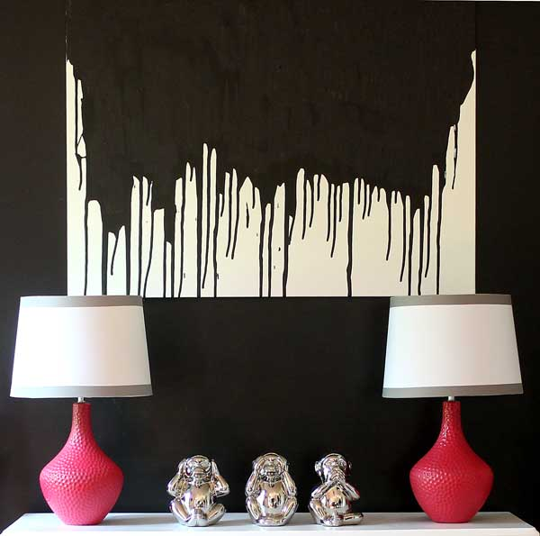 Make This: Easy DIY Paint Drip Wall Art