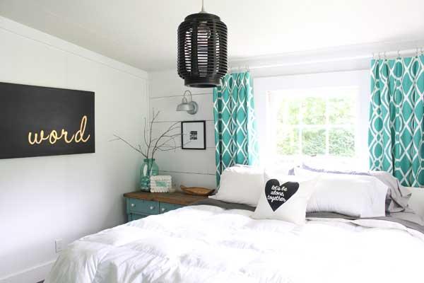 gina luker master bedroom