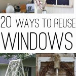 ways to use old windows