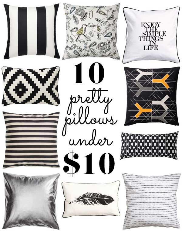 Cheap Decorative Pillows Under 10 New 60 Pretty Pillows Under 60
