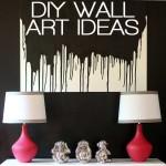 DIY wall art ideas
