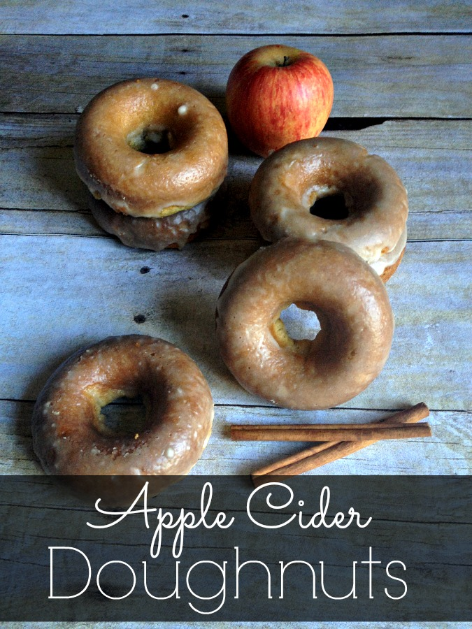 Baked Apple Cider Doughnuts - The Shabby Creek Cottage