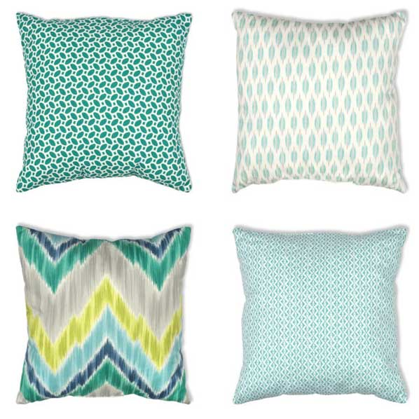 Nine aqua pillows to fall in love with