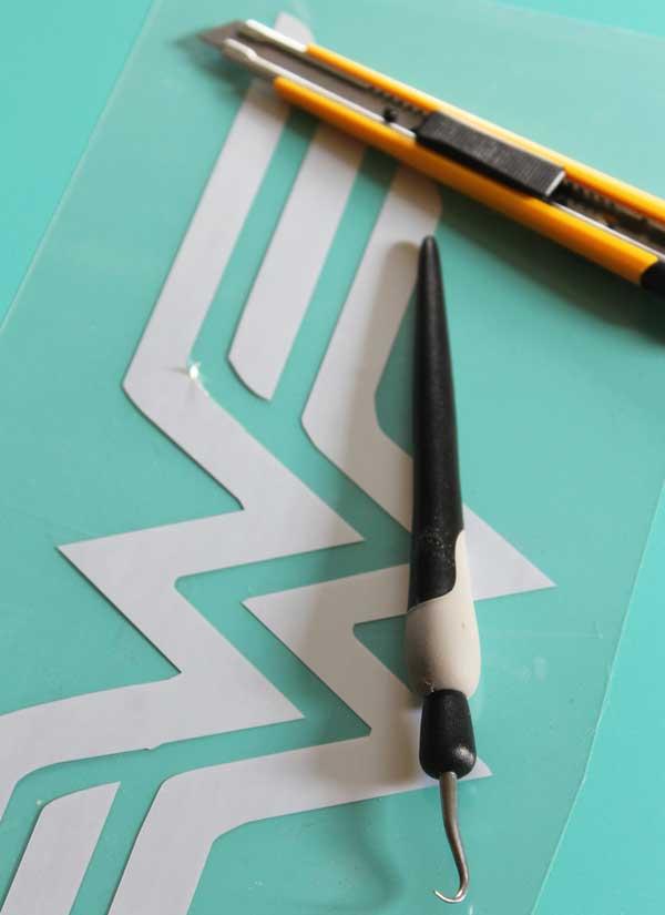 DIY superhero logo