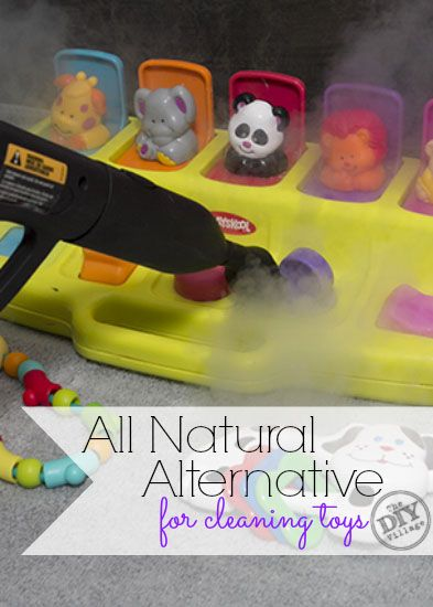 How To Properly Disinfect Toys : Steam cleaning uses for a steammachine homeright
