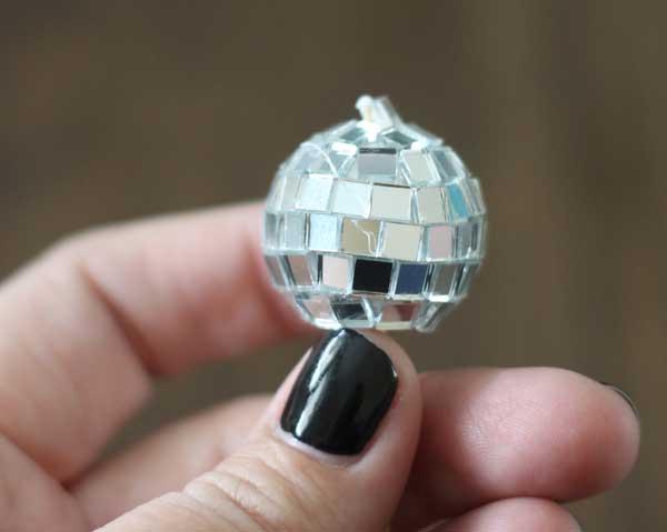 disco ball garland
