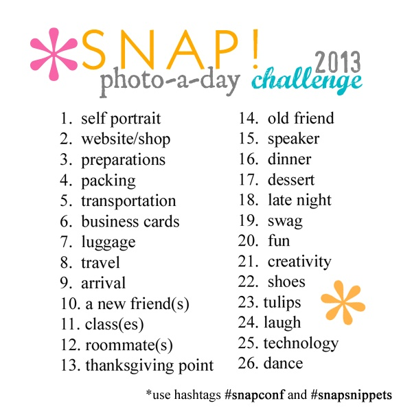 Instagram photo a day challenge