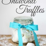 Gifts in Jars: Snowball Truffles
