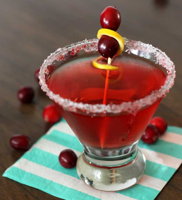 Christmas Cocktail: Cran-Merry-Tini