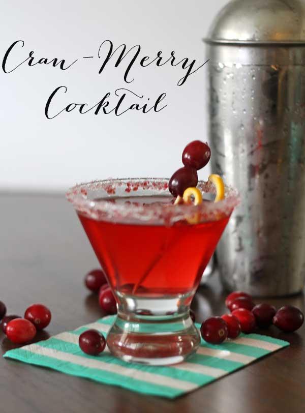 Christmas Cocktail: Cran-Merry-Tini