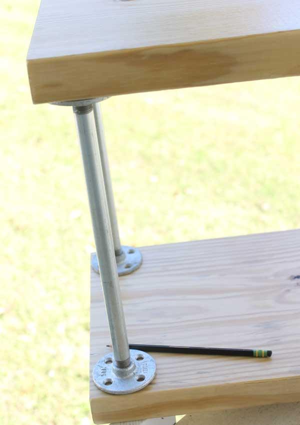 DIY Industrial Storage Cart