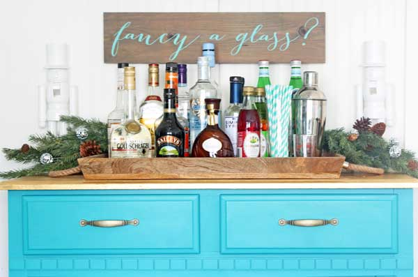 easy diy bar sign
