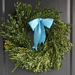 how to preserve a boxwood wreath
