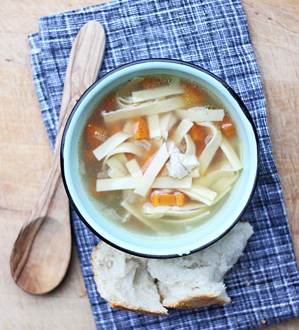 20 minute meal: Quick Homestyle Chicken Noodle Soup