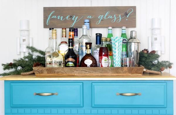 easy diy bar sign