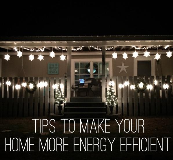 five tips to make your home more energy efficient. Black Bedroom Furniture Sets. Home Design Ideas