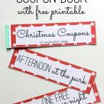 free printable kids Christmas Coupon Book