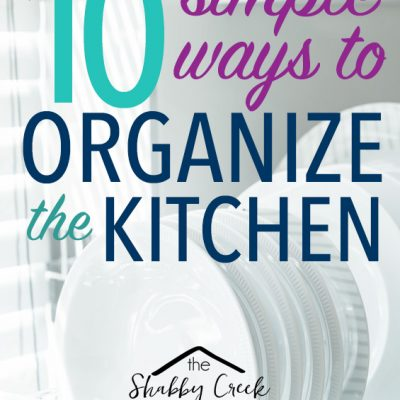 10 Simple Ways to Organize the Kitchen