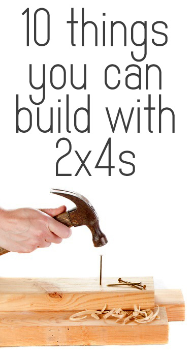 ten things you can build with 2x4s