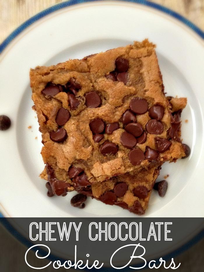 Chew Chocolate Cookie Bars Recipe
