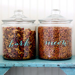 easy DIY pet food labels with free graphics