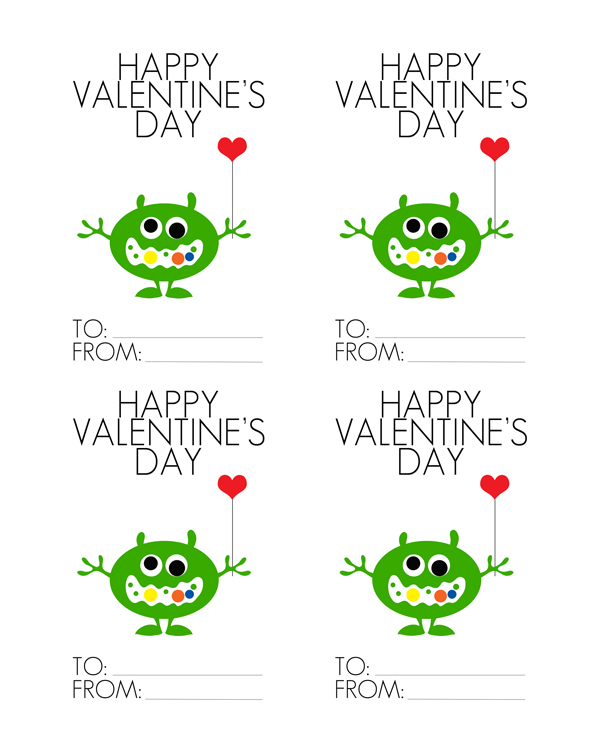 FREE printable Valentines Day Cards – Valentines Day Card to Print