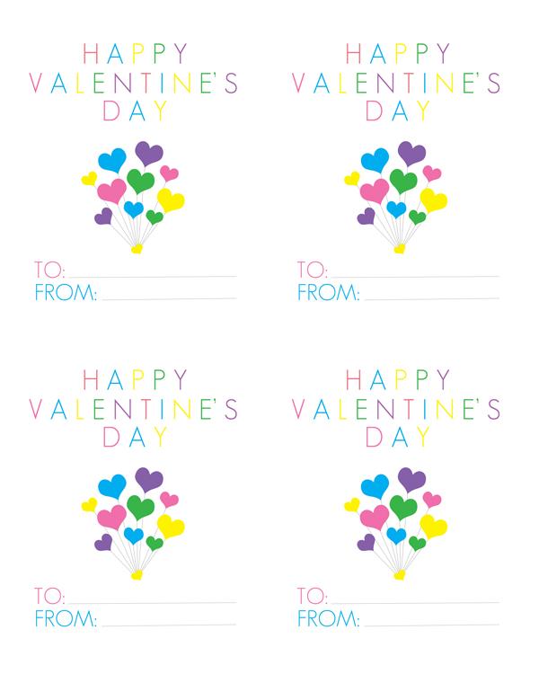 free printable Valentine's Day Cards via Alex & Co Printables + The Shabby Creek Cottage